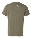 Front Kick to the Groin Tee - Olive Green