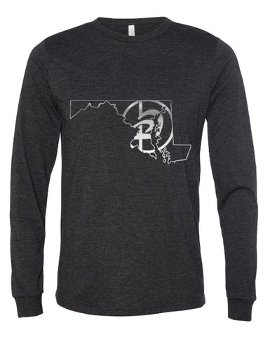 Long Sleeve MD State Tee