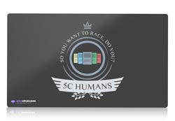 Five color 5c humans magic the gathering mtg playmat