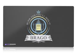 commander brago magic the gathering mtg playmat