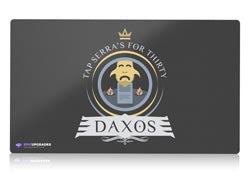 commander daxos magic the gathering mtg playmat