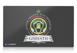 commander gishath magic the gathering mtg playmat