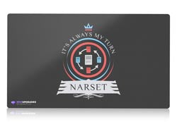commander narset magic the gathering mtg playmat