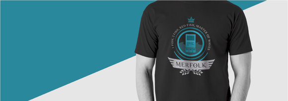 merfolk tribe archetype t-shirt
