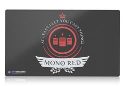 Mono red magic the gathering mtg playmat