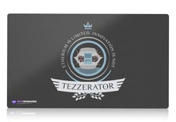 tezzerator magic the gathering mtg playmat