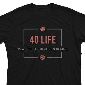 40 Life EDH - Magic the Gathering Unisex T-Shirt - epicupgrades