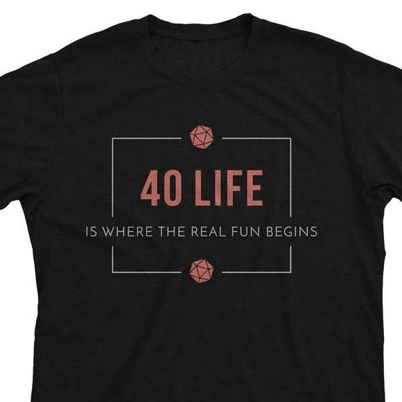 40 Life EDH - Magic the Gathering Unisex T-Shirt