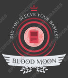 Playmat - Blood Moon Life Magic the Gathering