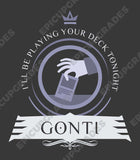 Commander Gonti - Magic the Gathering Unisex T-Shirt - epicupgrades
