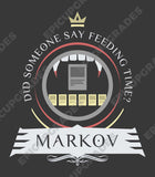 Commander Markov - Magic the Gathering Unisex T-Shirt - mtg