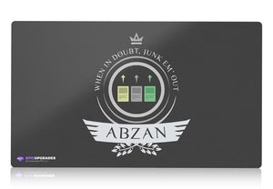 Playmat - Abzan Life  Magic the Gathering - mtg