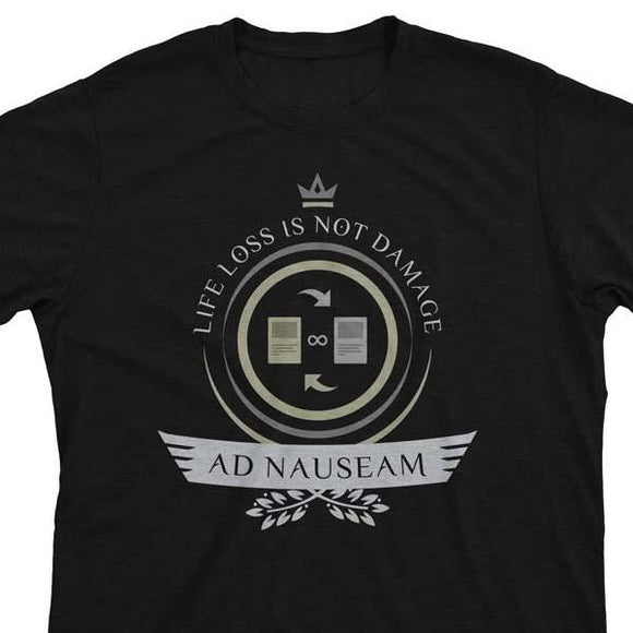 Ad Nauseam Life V1 - Magic the Gathering Unisex T-Shirt - epicupgrades