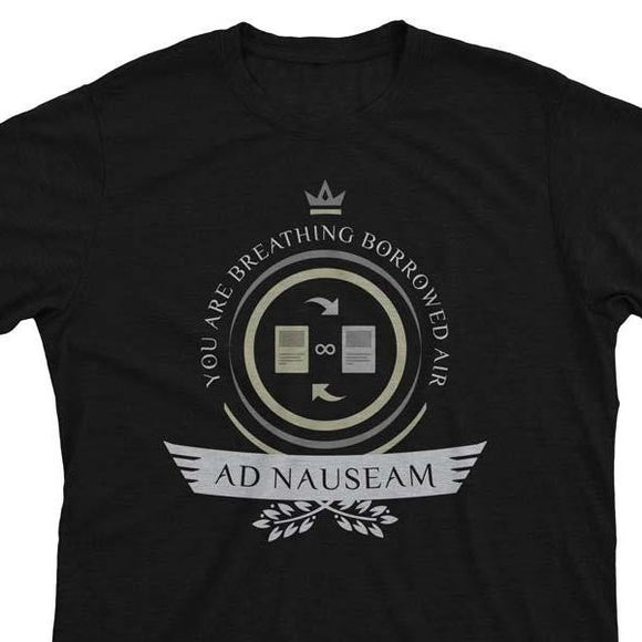 Ad Nauseam Life V2 - Magic the Gathering Unisex T-Shirt