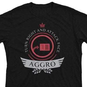 Aggro Life V1 - Magic the Gathering Unisex T-Shirt - epicupgrades