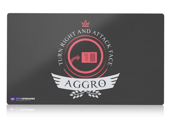 Playmat - Aggro Life V1 Magic the Gathering - epicupgrades