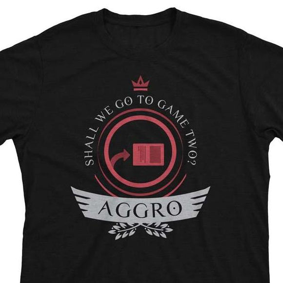 Aggro Life V2 - Magic the Gathering Unisex T-Shirt