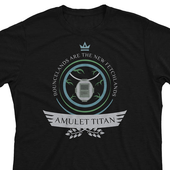 Amulet Titan Life - Magic the Gathering Unisex T-Shirt - epicupgrades