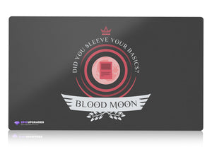 Playmat - Blood Moon Life Magic the Gathering - mtg