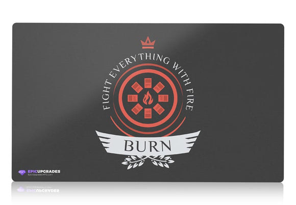 Playmat -  Burn Life V1 Magic the Gathering - epicupgrades
