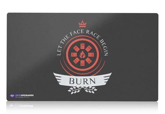 Playmat -  Burn Life V2 Magic the Gathering - epicupgrades