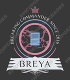 Playmat -  Commander Breya Magic the Gathering - epicupgrades