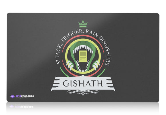 Playmat - Commander Gishath Magic the Gathering - epicupgrades