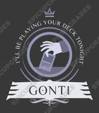 Playmat -  Commander Gonti Magic the Gathering - epicupgrades