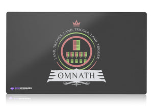 Playmat - Commander Omnath Magic the Gathering - mtg