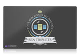 Playmat - Commander Sen Triplets Magic the Gathering - epicupgrades