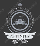 Affinity Life V2 - Magic the Gathering Unisex T-Shirt - mtg