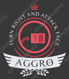 Aggro Life V1 - Magic the Gathering Unisex T-Shirt - mtg