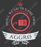 Aggro Life V2 - Magic the Gathering Unisex T-Shirt - mtg