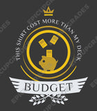 Budget Life - Magic the Gathering Unisex T-Shirt - epicupgrades