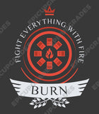 Burn Life V1 - Magic the Gathering Unisex T-Shirt - epicupgrades