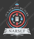 Commander Narset - Magic the Gathering Unisex T-Shirt - mtg
