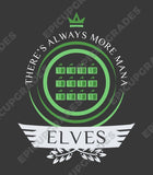Elves Life V1 - Magic the Gathering Unisex T-Shirt - mtg