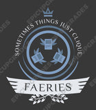 Faeries Life V1 - Magic the Gathering Unisex T-Shirt - mtg