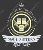Soul Sisters Life V2 - Magic the Gathering Unisex T-Shirt - mtg