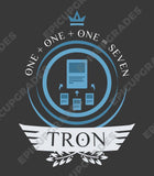 Tron Life V1 (Blue Version) - Magic the Gathering Unisex T-Shirt - mtg