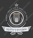 Playmat - Death's Shadow Life V1 Magic the Gathering
