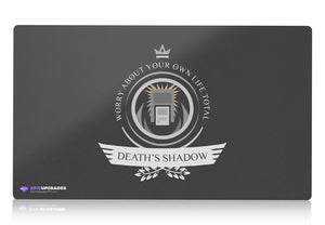 Playmat - Death's Shadow Life V1 Magic the Gathering - mtg