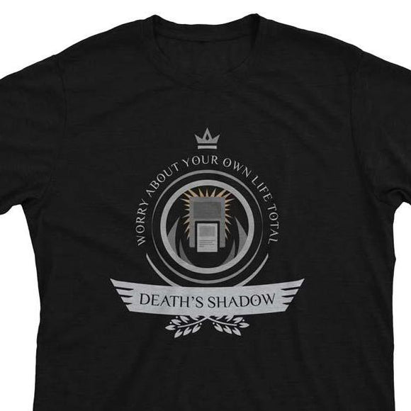 Death's Shadow Life V1 - Magic the Gathering Unisex T-Shirt