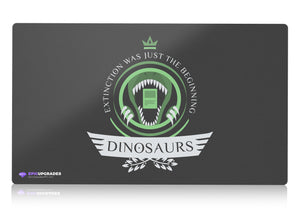 Playmat -  Dinosaurs Life Magic the Gathering - mtg