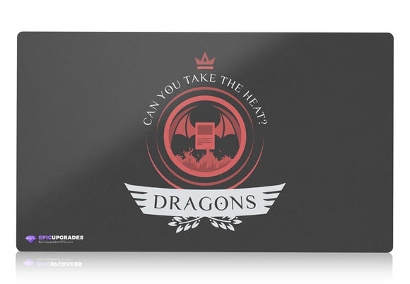 Playmat - Dragons Life Magic the Gathering - epicupgrades