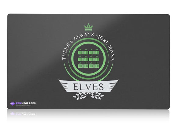 Playmat - Elves Life V1 Magic the Gathering - epicupgrades