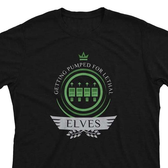 Elves Life V2 - Magic the Gathering Unisex T-Shirt - epicupgrades