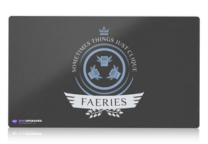 Playmat - Faeries Life V1 Magic the Gathering - epicupgrades