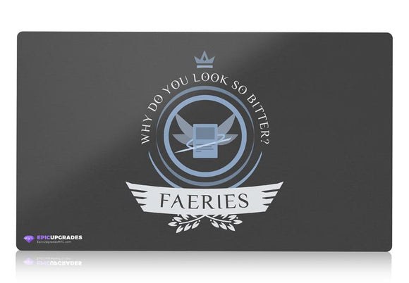 Playmat - Faeries Life V2 Magic the Gathering - mtg
