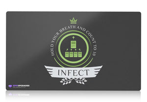 Playmat - Infect Life V1 Magic the Gathering - mtg